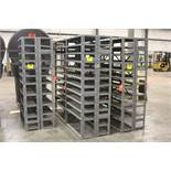 """DOUBLE SIDED SHELVING UNIT, 75"""" X 72"""" X 24"""""""