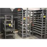 """DOUBLE SIDED SHELVING UNIT, 75"""" X 36"""" X 24"""""""