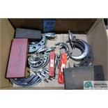 (LOT) MISCELLANEOUS MICROMETERS