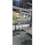 6' ROLLING STAIR LADDER
