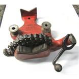 "RIDGID MOD. BC-810 CHAIN PIPE VISE- 1/8"" - 8"" Pipe Capacity"