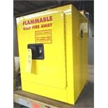SECURALL 4 GALLON FLAMMABLE LIQUID STORAGE CABINET