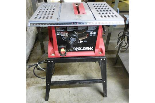 Skilsaw 10 bench top table saw w fixed stand for 10 inch skilsaw table saw