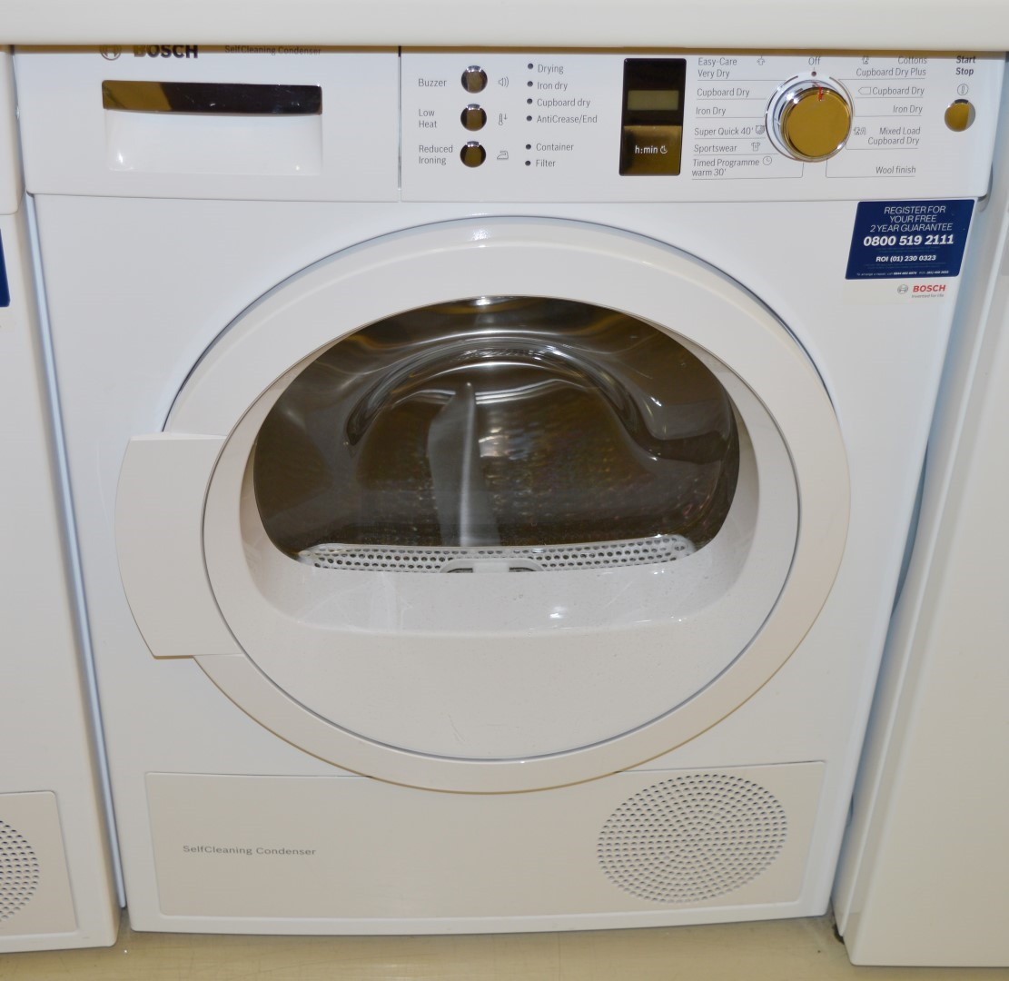 Tumble Dryers Espanol ~ Bosch kg load capacity self cleaning condenser tumble