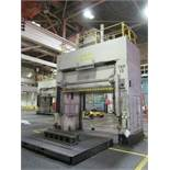 "VERSON D2-50-132-84-DS HYDRAULIC SPOTTING PRESS S/N 22061, 50 TON CAPACITY, 132"" X 84"" BED, 48"""