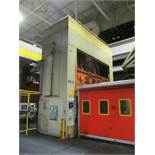 "DANLY U4-1000-180-96 STRAIGHT SIDE PRESS, S/N 642100-04, 1000 TON CAPACITY, 180"" X 96"" BED, 36"""