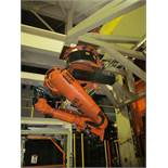 6-AXIS KUKA TRANSFER ROBOT w/ CONTROL & TEACH PAD, *PLEASE NOTE: SUBJECT TO SELLER CONFIRMATION*
