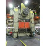 "VERSON SE4-1000-108-72 STRAIGHT SIDE PRESS, S/N 24683, 1000 TON CAPACITY, 108"" X 72"" BED, 12"""