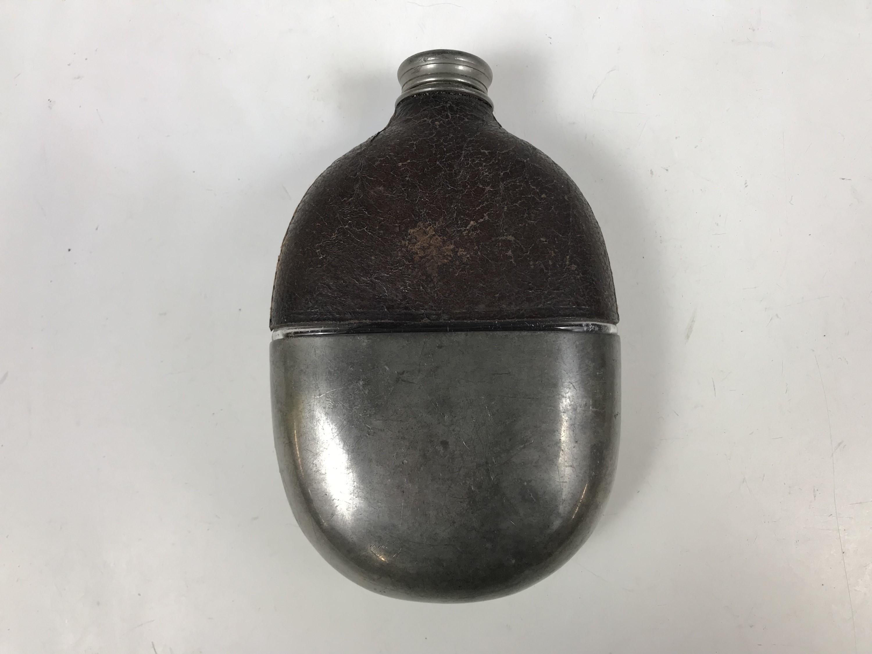 Lot 49 - A Victorian hip flask