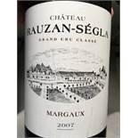 2007 Rauzan-Segla, 12 bottles of 75cl, IN BOND (alcohol: 13%).