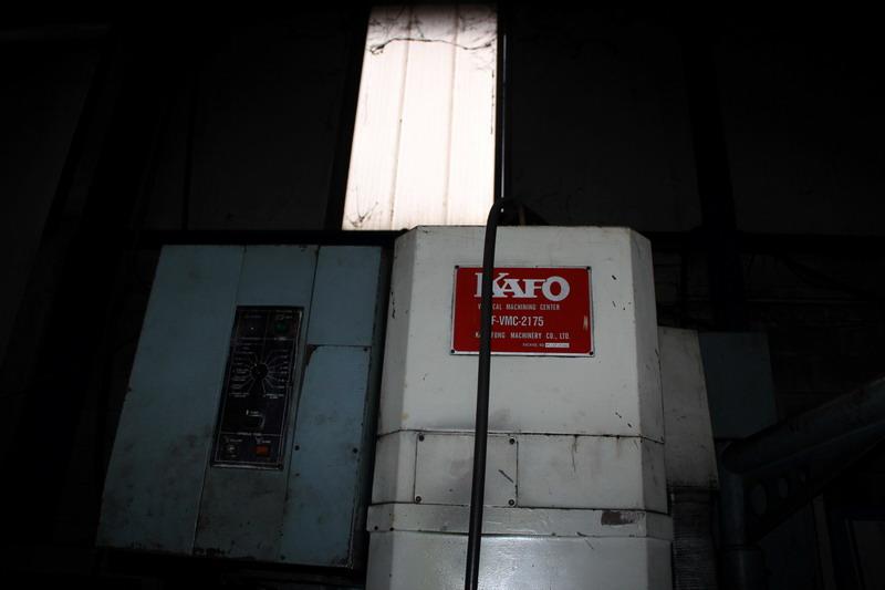 Lotto 82 - N. 33 (N. 725 IVG FALLIMENTO) FRESATRICE KASO, KF VMC 2175, N. VL217505045