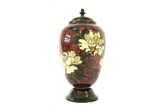 Rare John Bennett New York 1840 1907 Aesthetic Pottery Vase And