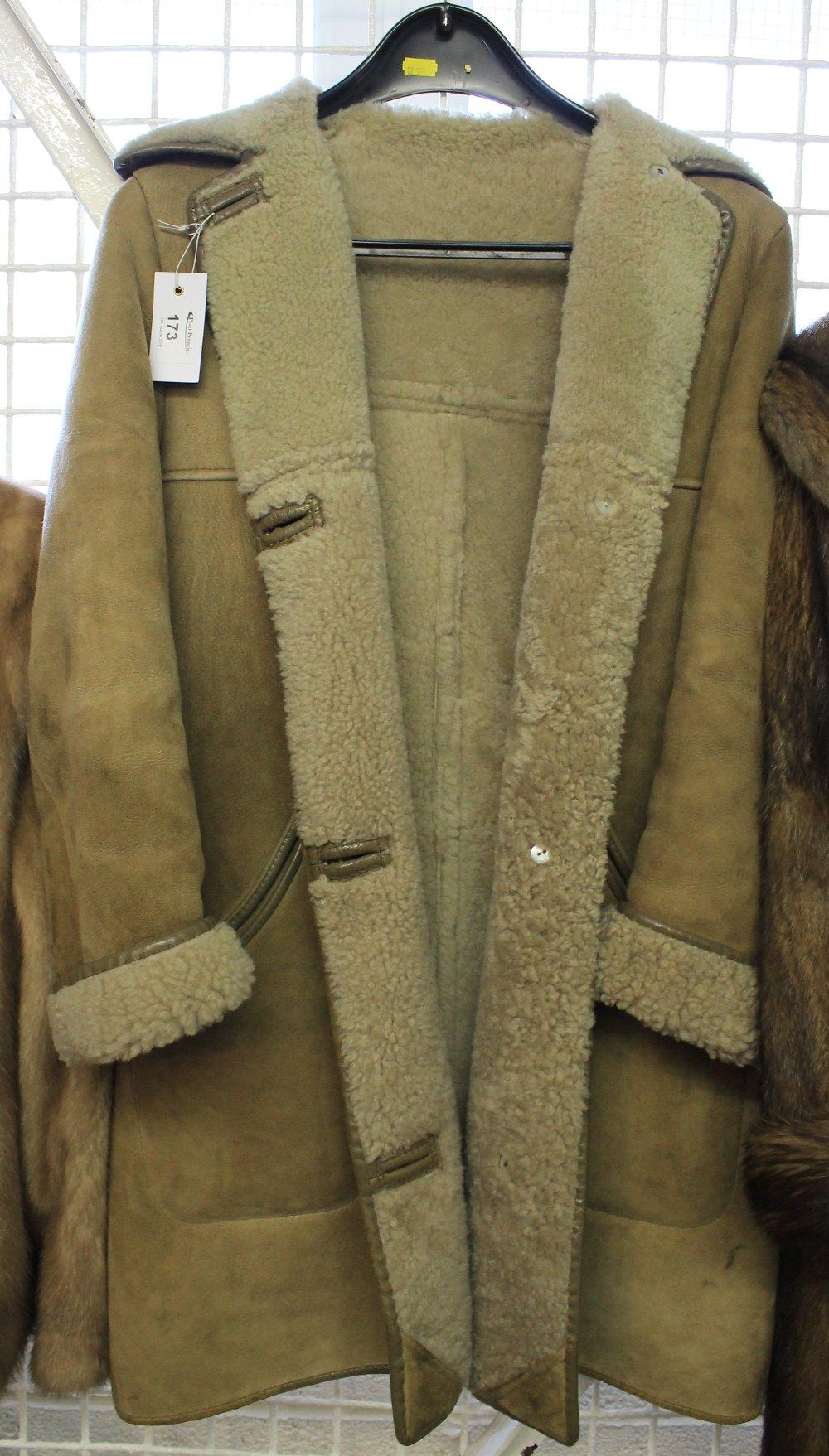 Genuine Nurseys sheepskin product Sidney Heath Swansea coat