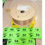 "LOT/ (10) 44LB SPOOLS OF ESAB SPOOLARC75 0.045"" DIAMETER WELDING WIRE CONFORMING TO AWS/ASME SFA 5."