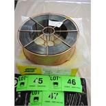 """LOT/ (9) 33LB ROLLS OF ESAB DUAL SHIELD R-70 ULTRA 0.45"""" CONFORMING TO AWS A5.20 ASME SFA 5.20 CWB"""