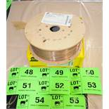 "LOT/ (12) 44LB SPOOLS OF ESAB SPOOLARC75 0.045"" DIAMETER WELDING WIRE CONFORMING TO AWS/ASME SFA 5."
