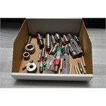 Box of Various Pin and Ring Gages