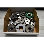 Box of Various Thread Ring Gages