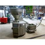 (1) Handtmann model VF-838-S S/S vacuum filler w/ hopper, S/N: 37345, c/w model AH/496 buggy lifting