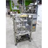 JDA Redeepac model 520 S/S vertical form-fill and seal machine, S/N: 210815, c/w touchscreen PLC