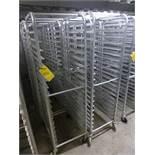 (10) aluminum transit racks