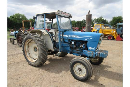 Ford 6600 Tractor : Ford diesel tractor fitted with dual power puh and