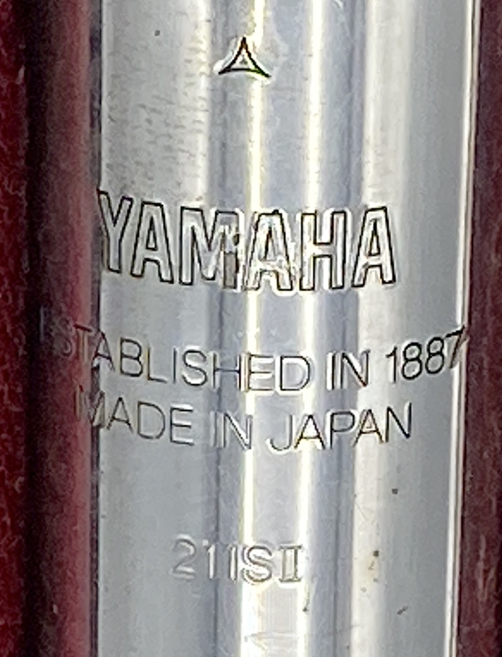 Lot 177 - Yamaha 211 SII silver plated flute with hard plastic carry case