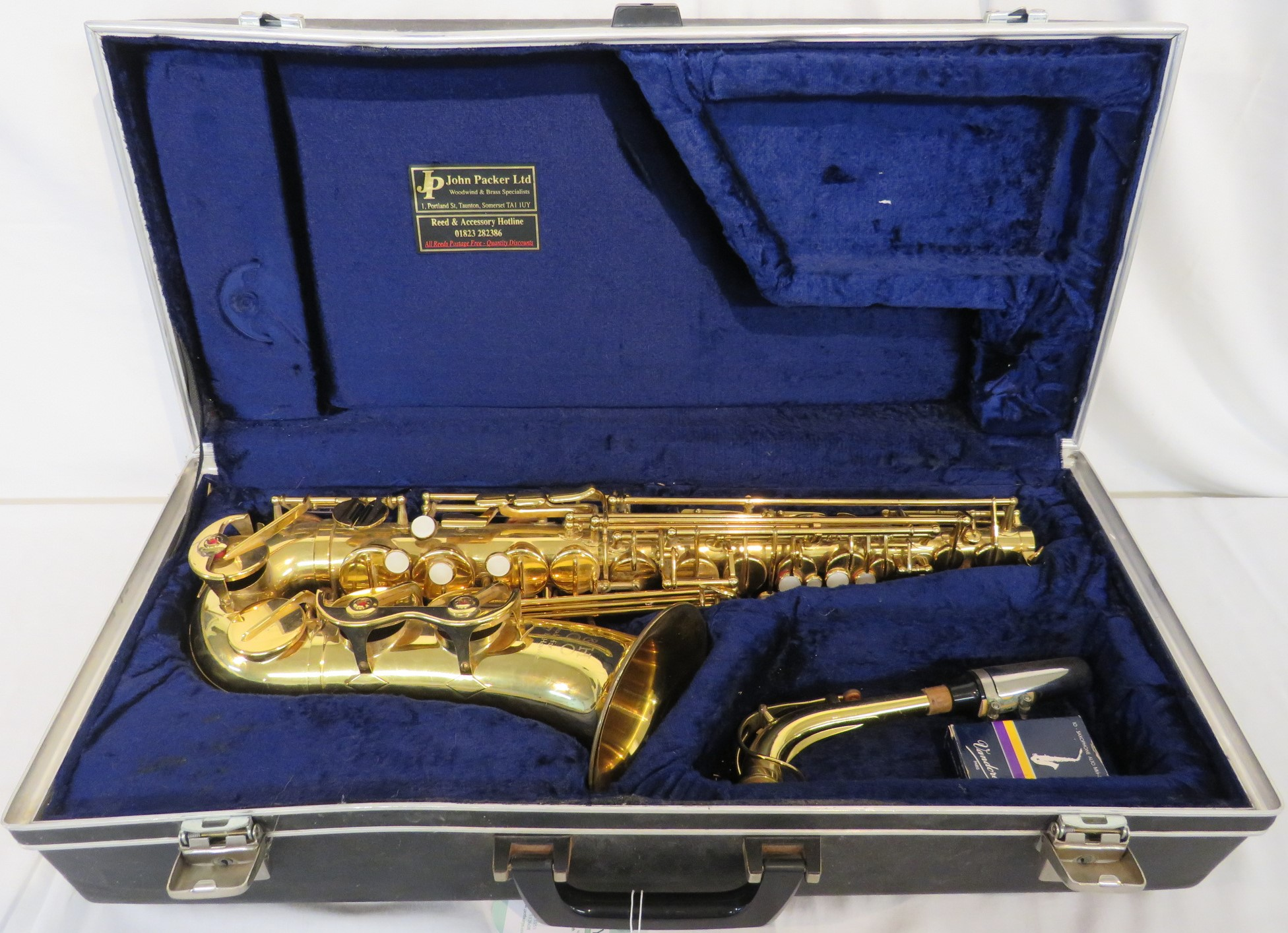 Lot 180 - B & H 400 for Boosey & Hawkes Alto saxophone in hard carry case