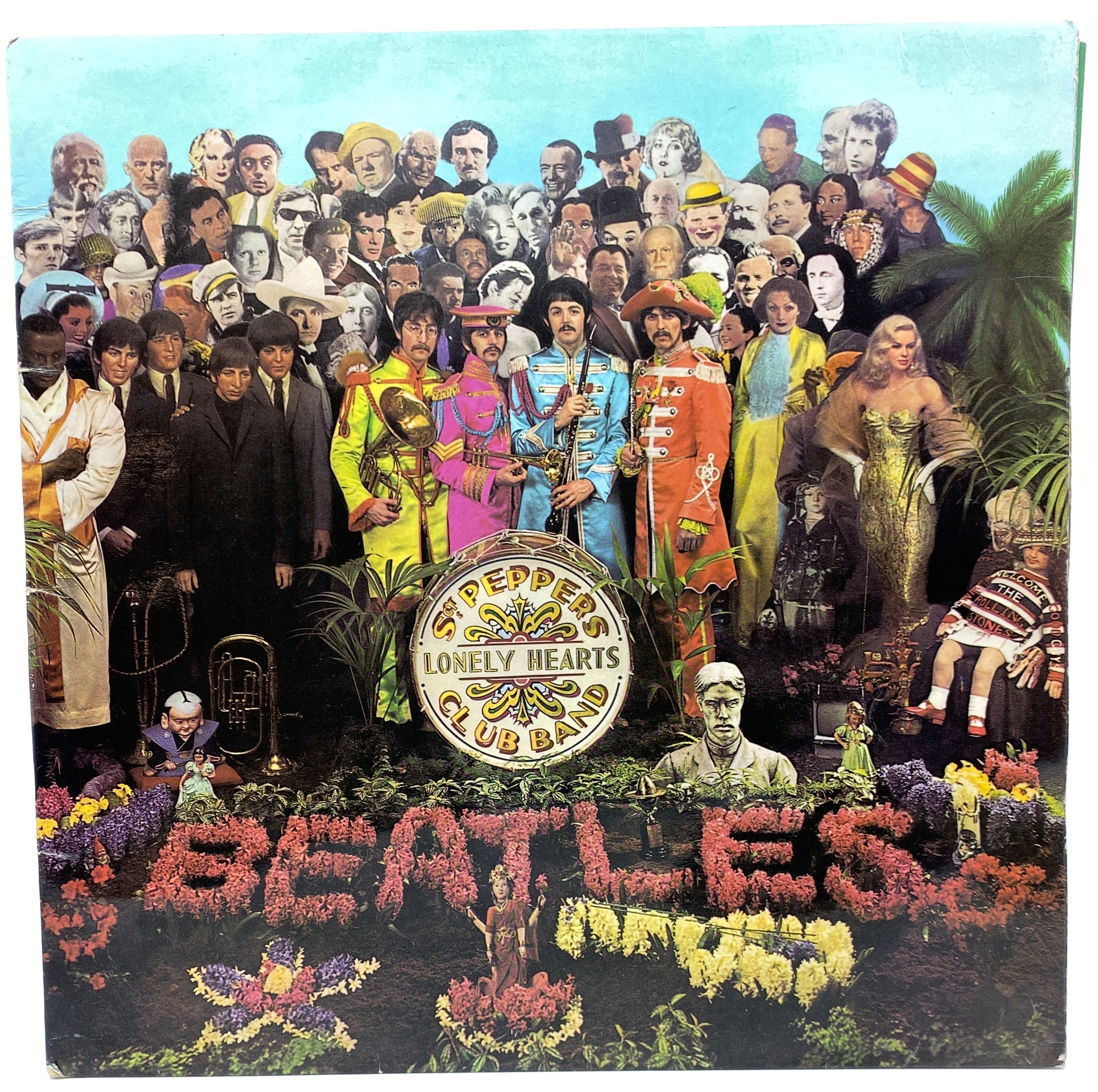 Lot 171 - Beatles LP 'Sgt Pepper's Lonely Hearts Club Band' (PMC 7027 XEX 637(8) -1) mono