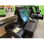 Touch Dynamic model Breeze Performance Centeredge Software POS System complete w/ (2) screens, Zebra