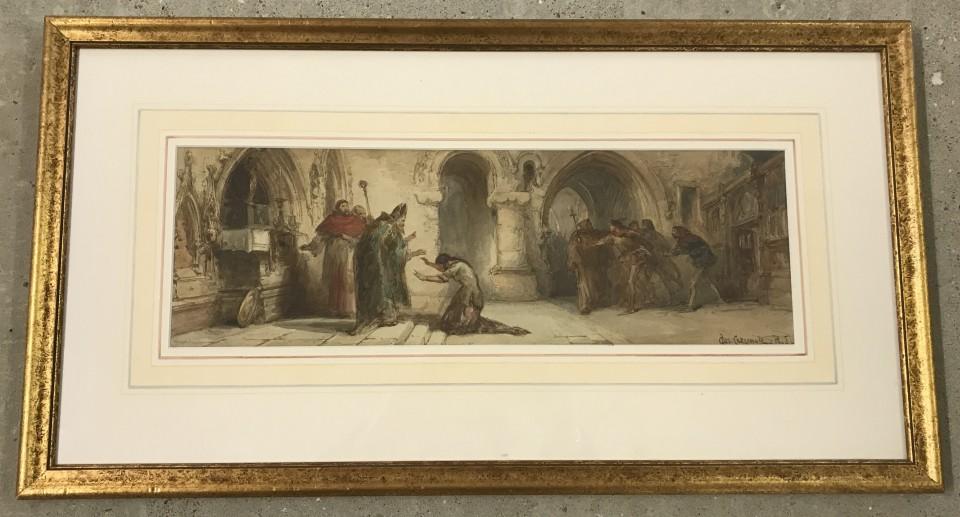 Lot 138 - Chas. Cattermole - watercolour.