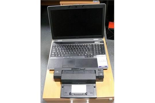 Dell Latitude E6530 Laptop c/w Docking Station (Service Tag
