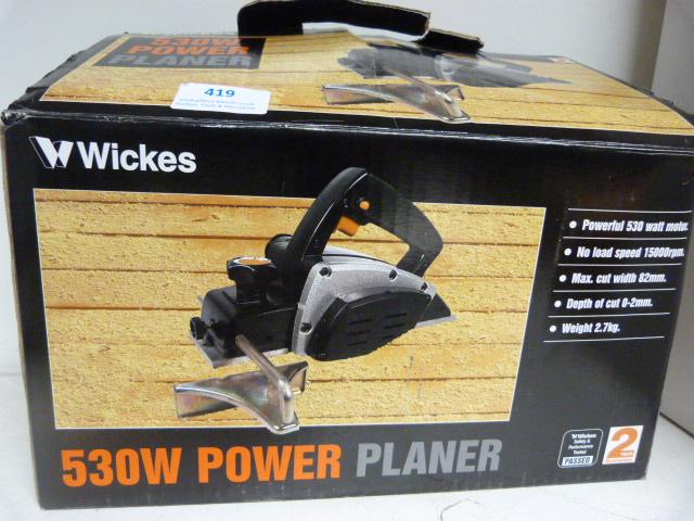 530w Power Planer