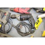 "PORTER CABLE 1/2"" ELECTRIC DRILL"