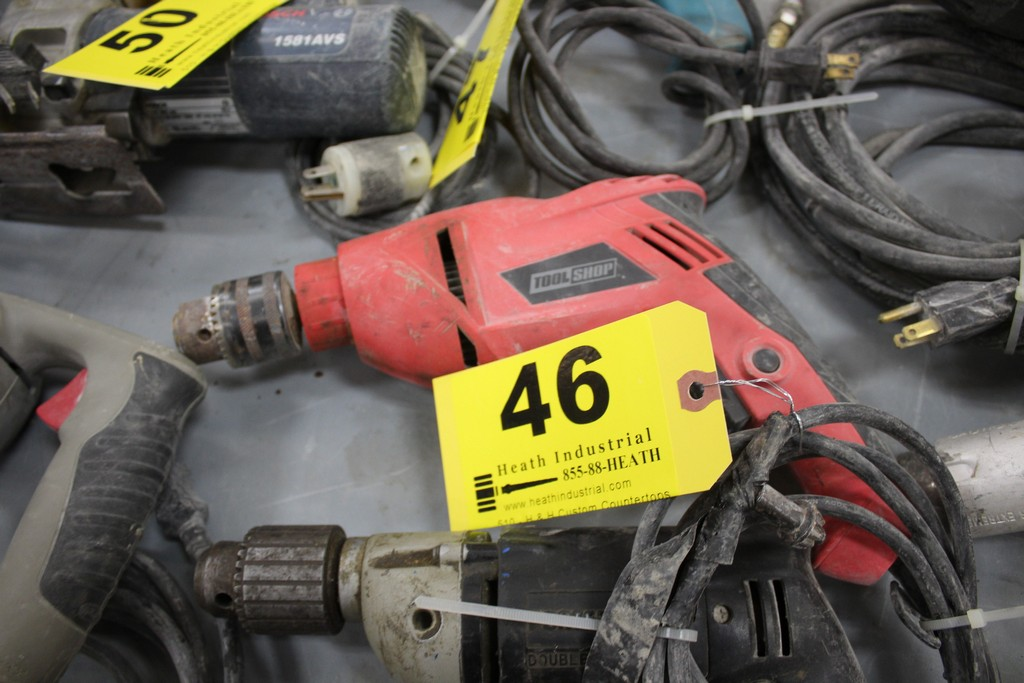 """TOOL SHOP 1/2"""" ELECTRIC DRILL - Image 2 of 2"""