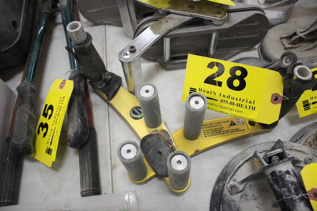 MEGA-JAW CARRY CLAMP 250 LBS CAPACITY - Image 2 of 2