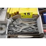 LARGE QTY OF WRENCHES IN BOX