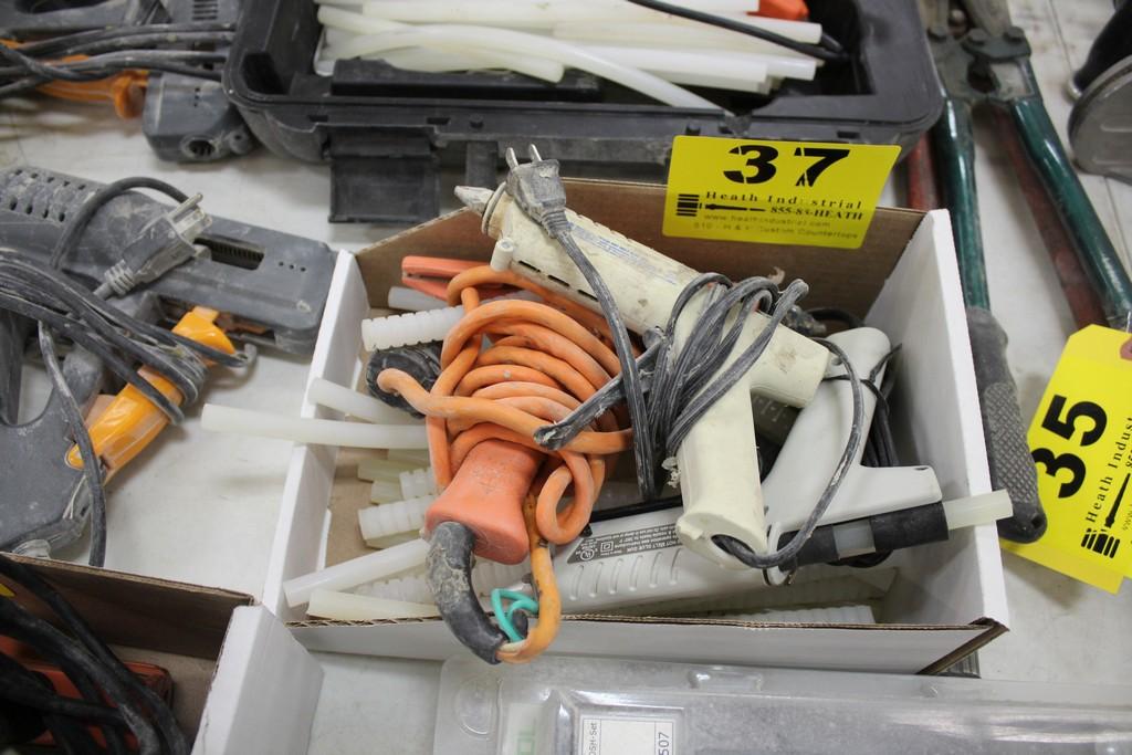 (3) HOT GLUE GUN APPLICATORS