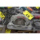 "PORTER CABLE MODEL 743 7 1/4"" HEAVY DUTY CIRCULAR SAW"