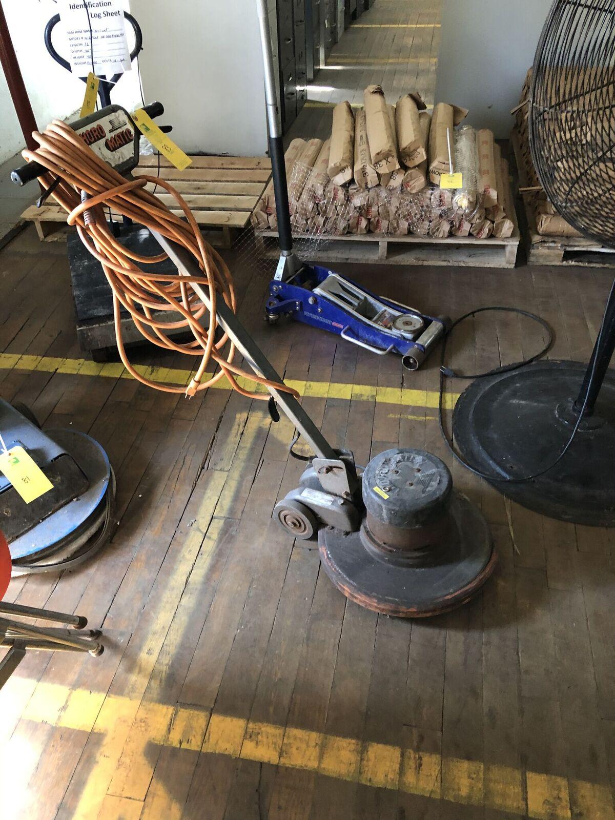 Lot 83 - Thoro Matic Floor Scrubber