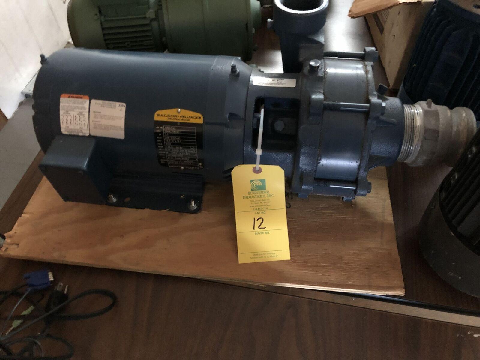 Baldor 7.5 HP Motor & Pump