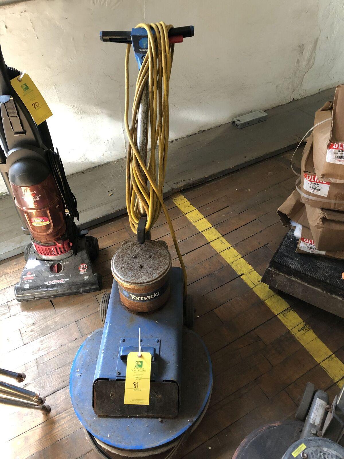 Lot 81 - Tornado Floor Scrubber
