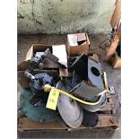 Pallet of (3) Motors, Ignition Transformers & More