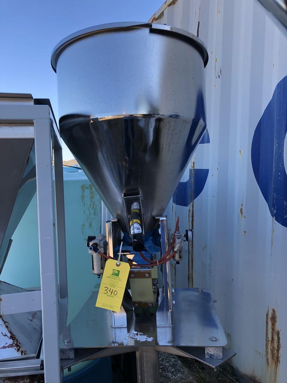 Lot 340 - Vibrating Hopper