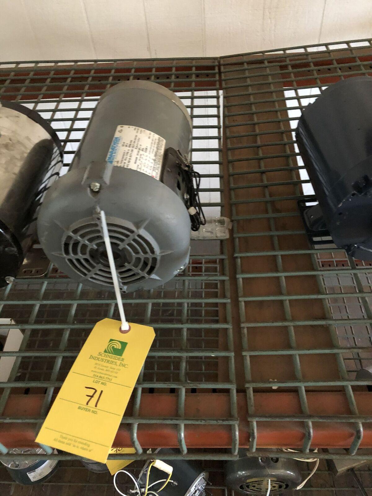 Lot 71 - Marathon Electric 3HP Motor