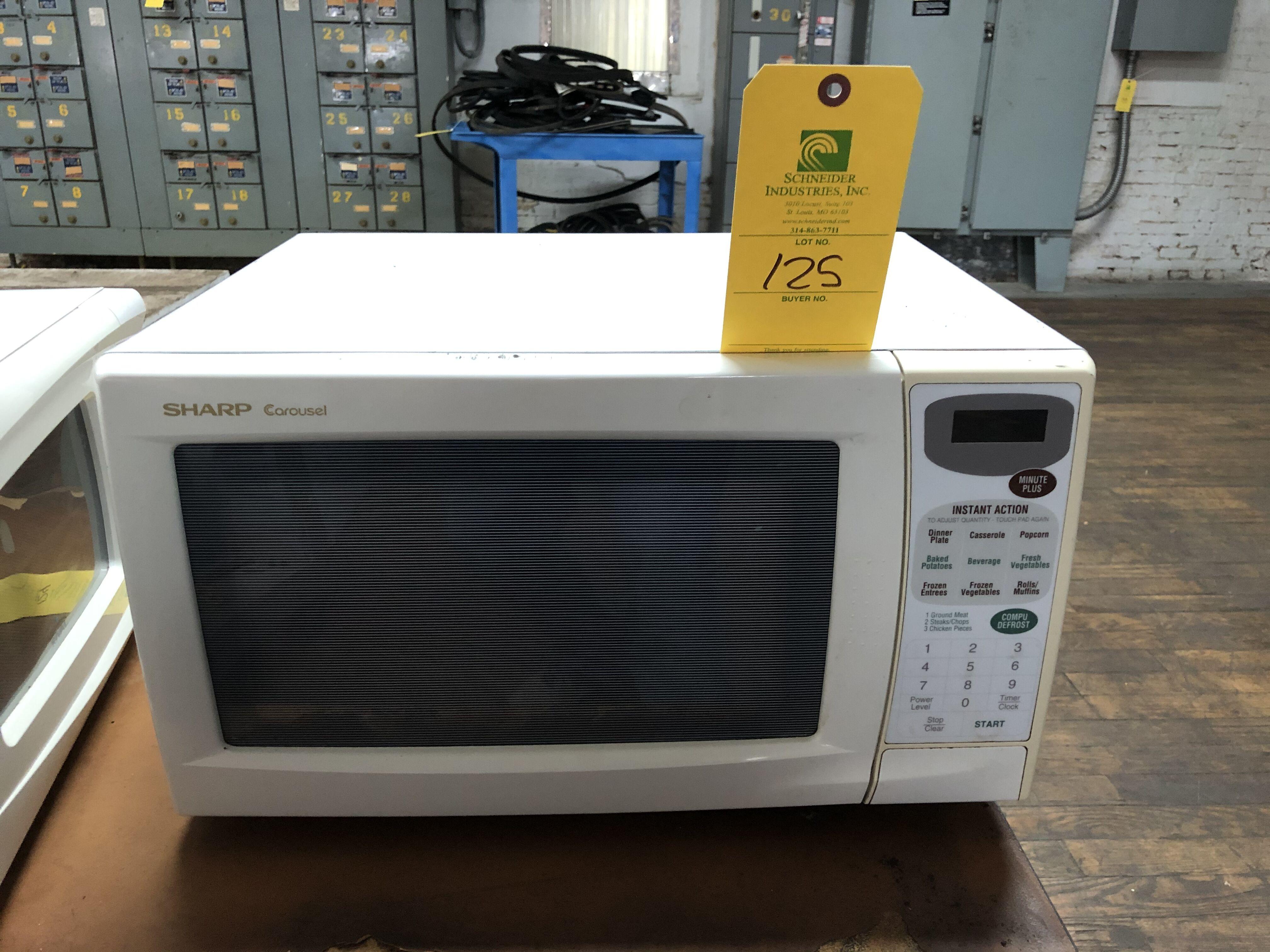 Lot 125 - Sharp Carousel Microwave