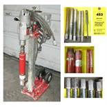 Milwaukee Core Drill on Hilti DCMII Drill Stand with Extra Core Bits (4035)