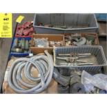 LOT of Misc. Sandblasting Equipment Parts, Blastopeen, CLEMCO, etc.