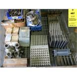 Misc. Machine Parts- Transformer, Poiser Feed Drill Template, Wardwell Braiding Machine Parts
