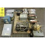 LOT of Misc. ACME, Badger, GE, General Signal, Hammond & Square D Transformers
